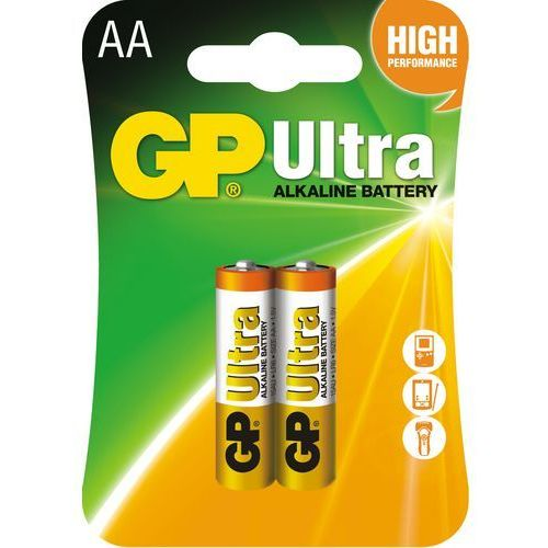 Gp-batteries Gp batteries bateria aa (2szt.)ultra alkaline (4891199027581)