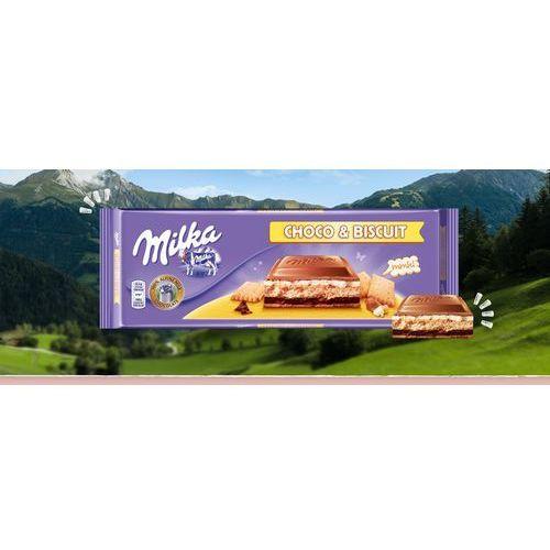 Czekolada milka 300g schoco&biscuit* marki Kraft