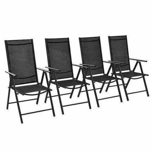 Elior Komplet krzeseł ogrodowych safari 4 szt.