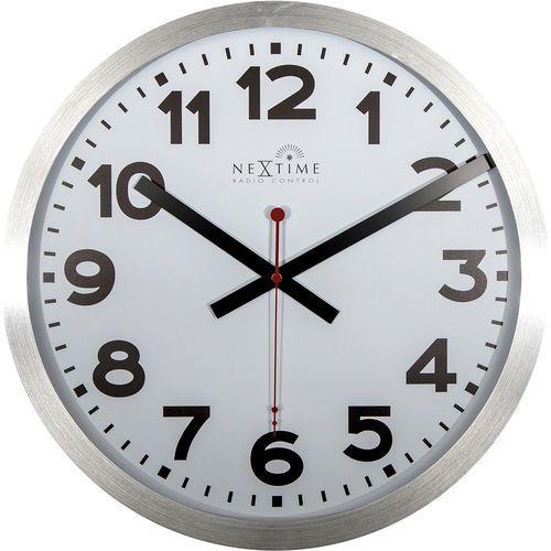 Zegar ścienny ze sterowaniem radiowym station 35 cm (3999 arrc) marki Nextime