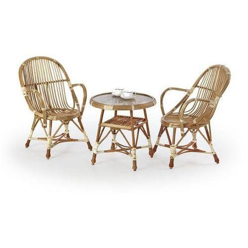 Stół ogrodowy wicker - okazja!!! marki Halmar