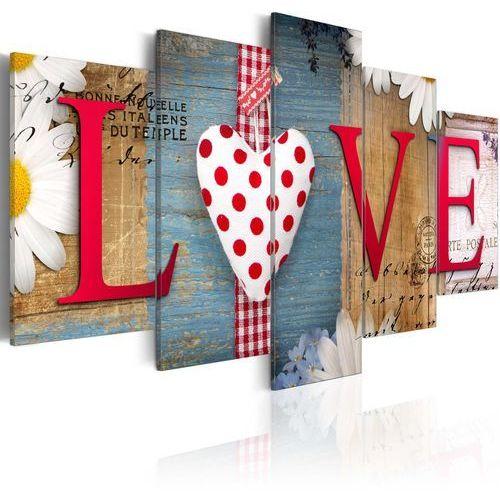 Artgeist Obraz - love - handmade
