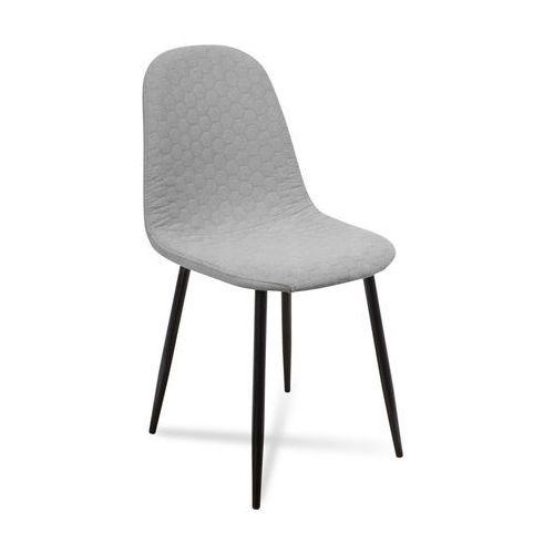 """Krzesło """"ARIA"""" nogi czarne, kolor czarny"""