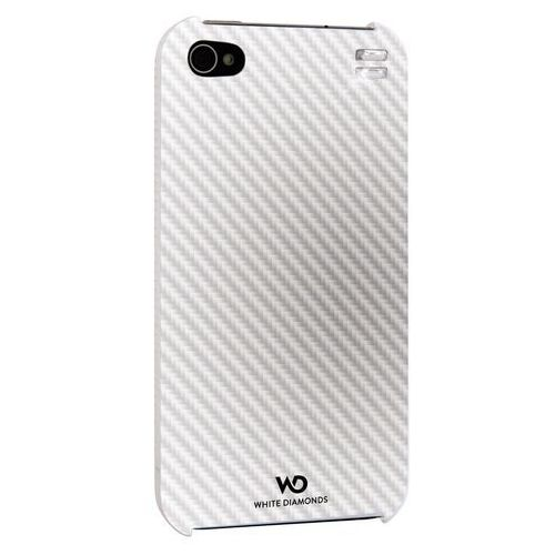 Etui HAMA do iPhone 4 White Diamonds Focus Biały (4260237630913)