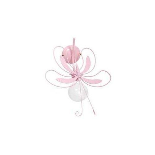Kinkiet dziecięcy motyl 1xe27/60w różowa marki Luminex