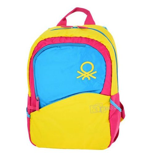 United Colors of Benetton Lifestyle plecak - żółty