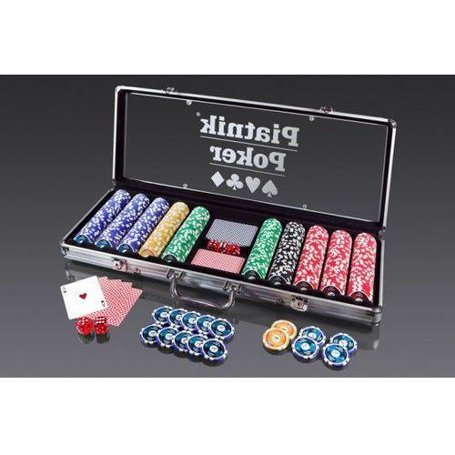 Zestaw do pokera 500 żetonów +DARMOWA DOSTAWA przy płatności KUP Z TWISTO
