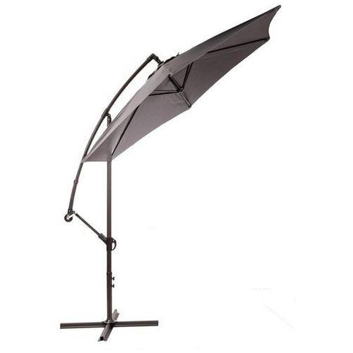 Makers parasol ogrodowy miami, boczny 2,7 m, szary