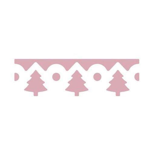 Dziurkacz ozdobny brzegowy  jcdz-605-079/4cm- choinki marki Dalprint