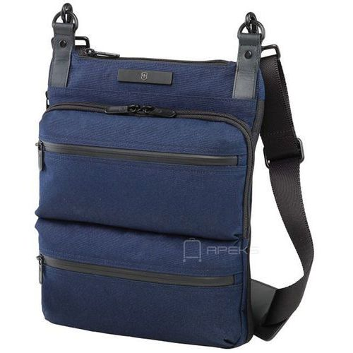 Victorinox Architecture Urban Wilson torba na ramię / tablet 10'' - granatowy, kolor niebieski