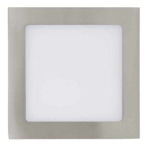 oprawa sufitowa 10,95W FUEVA 1 17 cm - satynowy nikiel PROMOCJA!, EGLO 31673
