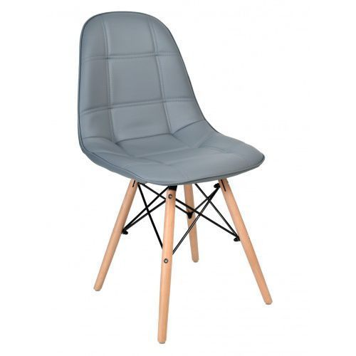 Krzeslaihokery Krzesło king szare