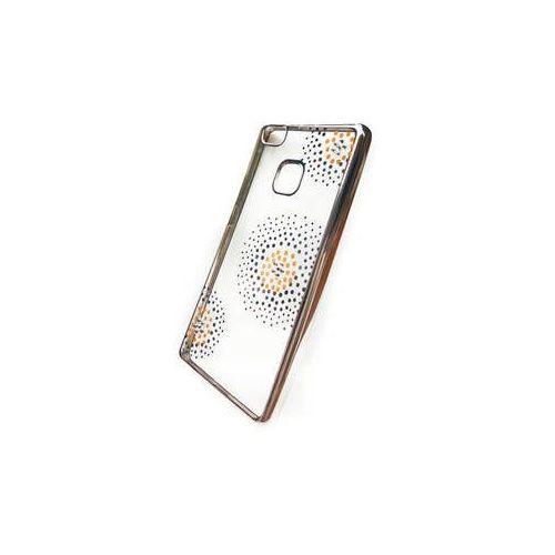 Obudowa dla telefonów komórkowych  flower dots pro huawei p9 lite (beahup9ltpuflsi) srebrny marki Beeyo