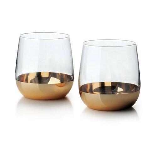 Sofa.pl Mirella gold kpl.2 szklanek 475ml