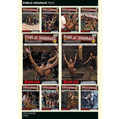PUBLIC DISGRACE PACK 10 PCS