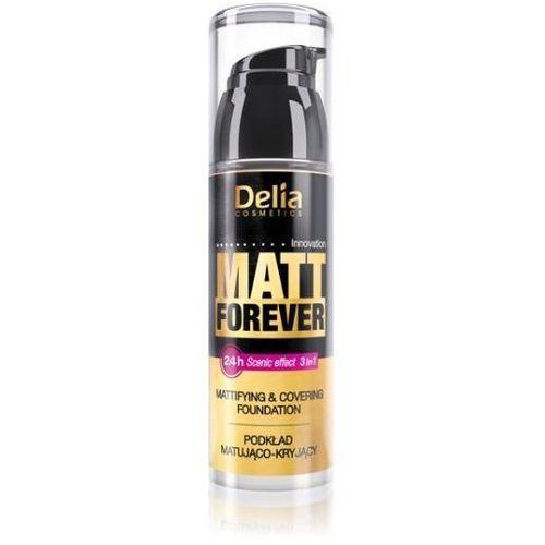 Delia cosmetics matt forever podkład matująco-kryjący 3w1 nr 41 35ml - delia