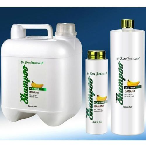 Iv San Bernard - szampon bananowy dla psów o półdługim włosie, bez SLS, 300 ml
