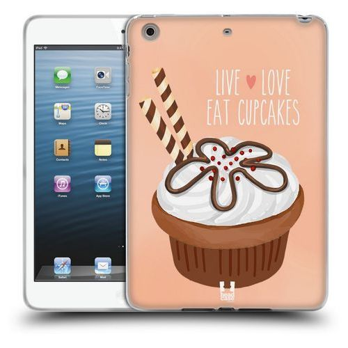 Head case Etui silikonowe na tablet - cupcake happiness chocolate wafer