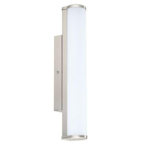 Kinkiet lampa oprawa ścienna Eglo Calnova 1x8W LED 35cm nikiel mat IP44 94715 (9002759947156)