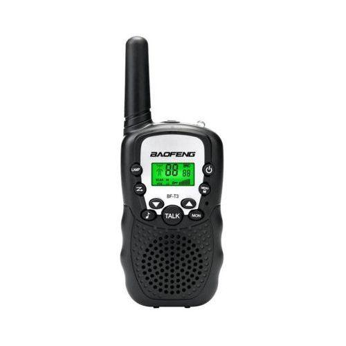 Radiotelefon BAOFENG BF-T3 Czarny DARMOWY TRANSPORT (5907710901007)