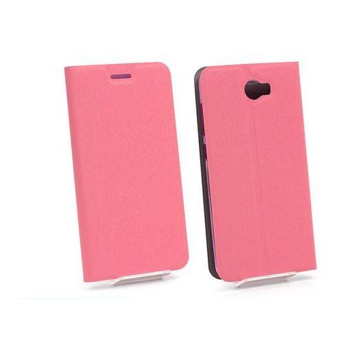 Huawei Y6 II Compact - etui na telefon Flex Book - różowy