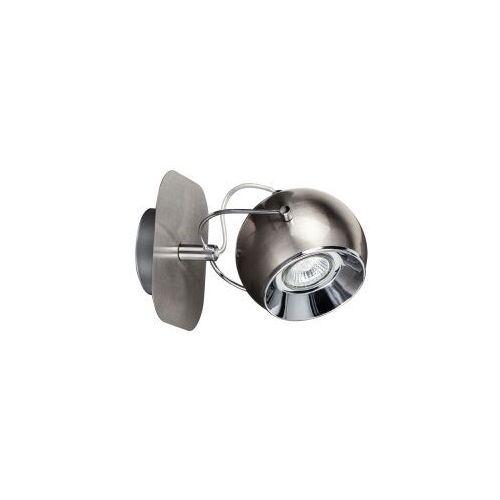 Spot light ball 5109187 kinkiet lampa ścienna 1x6w gu10 srebrny (5901602315378)