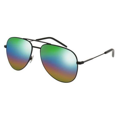 Okulary słoneczne classic 11 rainbow 002 marki Saint laurent