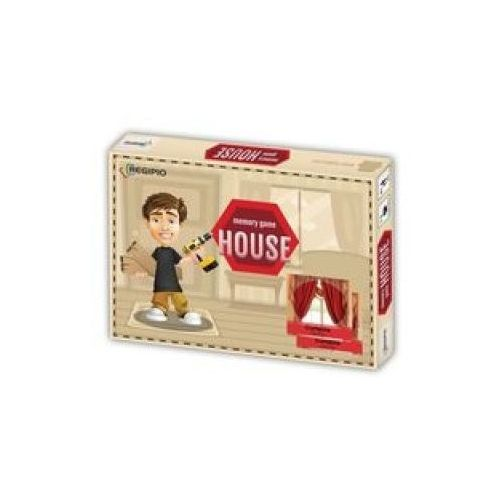 Memory Game House pudelko