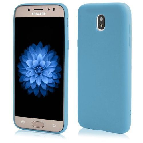 Kltrade Etui back case pudding slim do samsung galaxy j5 2017 błękitny (5901646805644)
