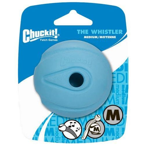 Chuckit! Whistler Ball piłeczka dla psa - M: Ø 6,5 cm