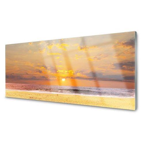 Obraz akrylowy morze plaża słońce krajobraz marki Tulup.pl