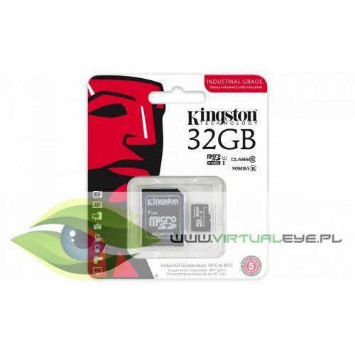 Kingston microSD 32GB CL10 UHS-I 90/45MB/s Industrial, 1_488560