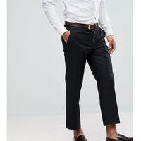 Heart & Dagger Tapered Cropped Trouser - Black