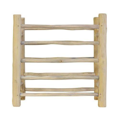 HK Living Drewniany stojak na talerze AKE1010