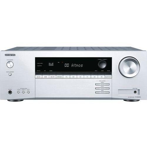 Amplituner ONKYO TX-SR494S Srebrny, TX-SR494S
