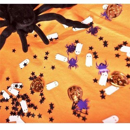 Konfetti Pająki, duszki, gwiazdki i dynie na Halloween - 30 g