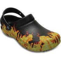Crocs buty Bistro Graphic Clog Black 38.5, kolor czarny