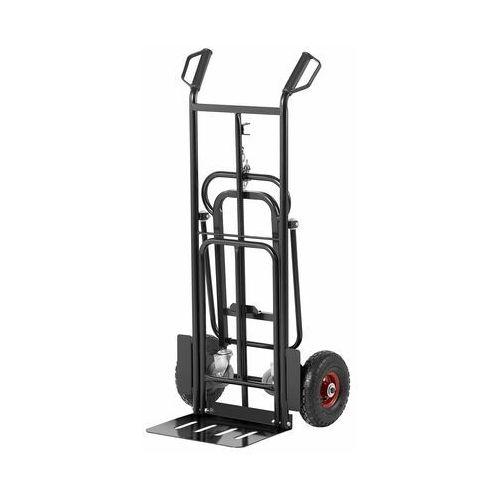 wózek magazynowy - do 180 kg - składany - koła podporowe msw-ht-180 - 3 lata gwarancji marki Msw