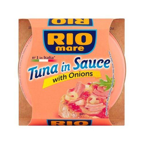 RIO MARE 160g Tuńczyk w sosie z cebulą