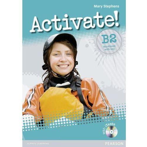 Activate! B2 Workbook with key + iTest CD, oprawa miękka