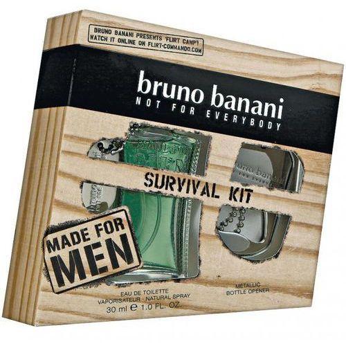 Bruno Banani Made for Men, Zestaw podarunkowy, woda toaletowa 30ml + otwieracz do butelek