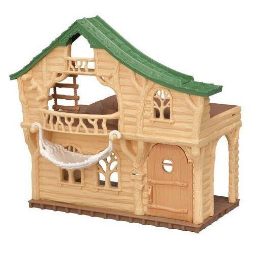Sylvanian families drewniany domek z meblami 5451