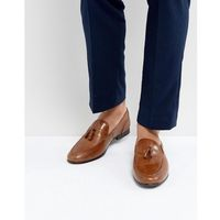 Red Tape Tassel Loafers In Tan Leather - Tan