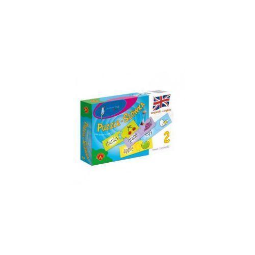 Puzzle ALEXANDER Słówka angielskie - żywność, 5906018004779
