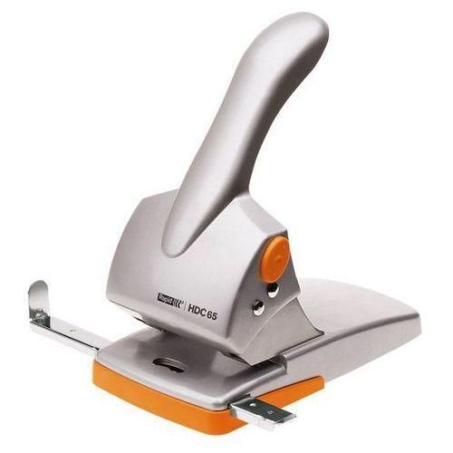 Dziurkacz  fashion hdc65, 20922603 - srebrno-pomarańczowy marki Rapid