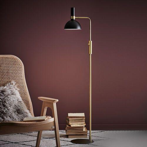 Lampa podłogowa Larry 1 x 40 W E27 czarno-złota (7330024569171)