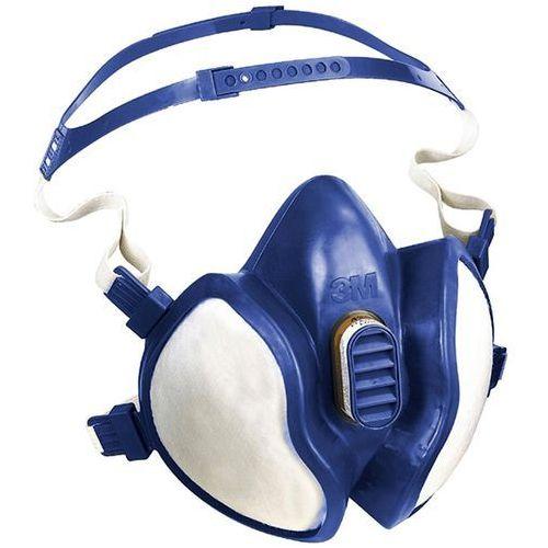 3M 4255 maska do kolorowych firmy na działania strumieni i prac szlifierskich w pralkach, gotowe do użycia, niski opór oddychania, wyjątkowo łatwe