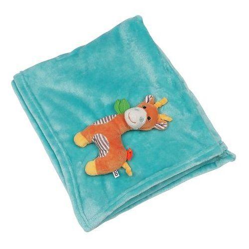 Zoocchini  kocyk błękitny żyrafa