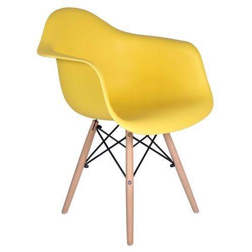 Krzesło nicea żółte od producenta Ehokery.pl