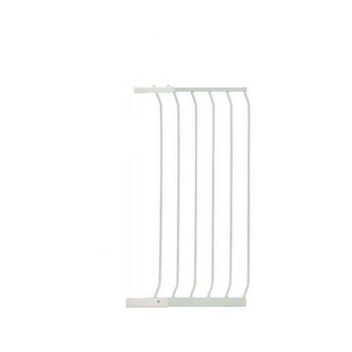 Rozszerzenie bramki zabezpieczającej pcr842w 45/100 cm biały + darmowy transport! marki Dreambaby